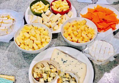 チーズ ワイン会